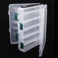 Пластиковая коробка для рыболовных приманок двухсторонняя 10