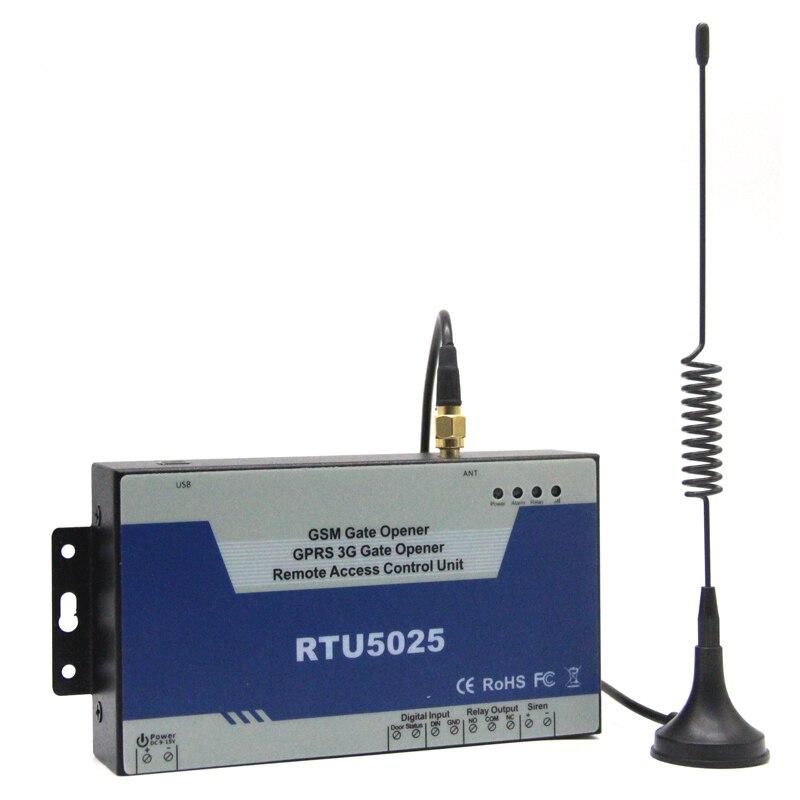 2017 Nouveau GSM Porte Swing Ouvre Porte De Garage Coulissante Ouvert Télécommande Quadri-Bande GPRS Support Communiquer RTU5025