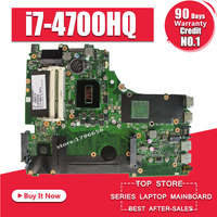 X750JA материнской i7 4700HQ для ASUS x750jb A750JA K750J K750JA X750J Материнская плата ноутбука X750JA плата X750JA материнская плата