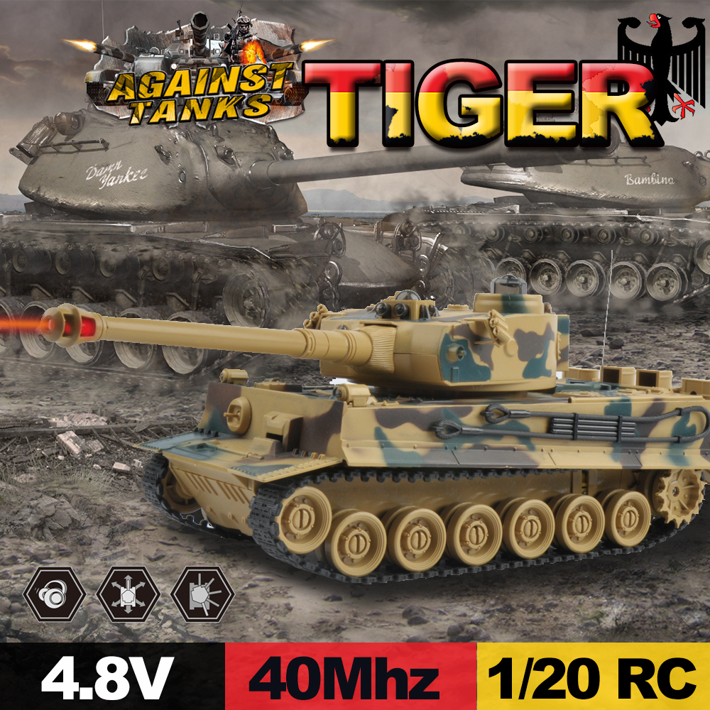 Image 5 - E T 1/20 RC Tank 9CH 27Mhz Infrared RC Battle T90 Tank Cannon & Emmagee Remote Control Tank Remote Toys for Boys Chassis Tank-in RC Tanks from Toys & Hobbies