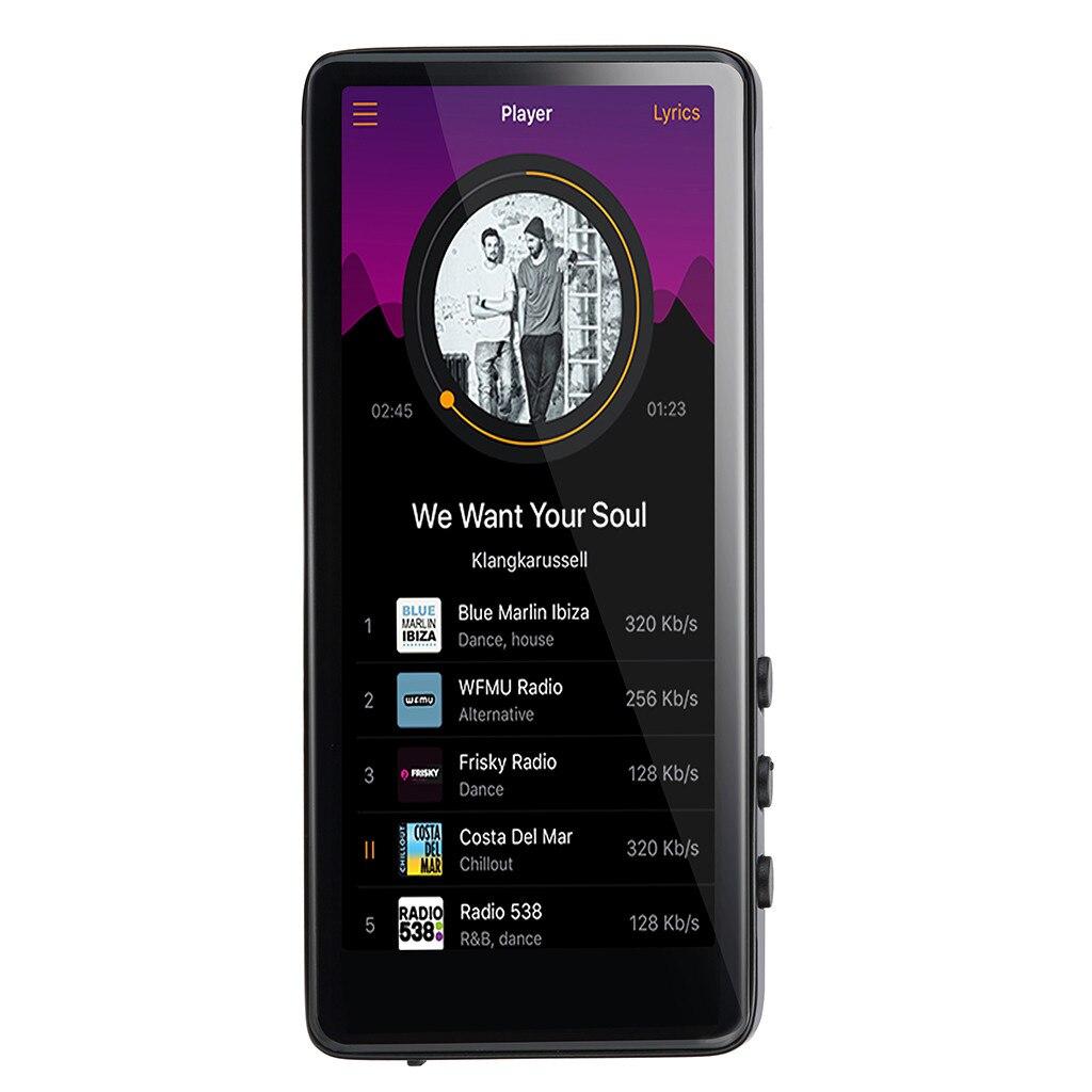 HIPERDEAL mode Uniscom M7 8 GB lecteur MP3 baladeur sans perte enregistreur FM Radio dynamique vidéo écran tactile film EE14