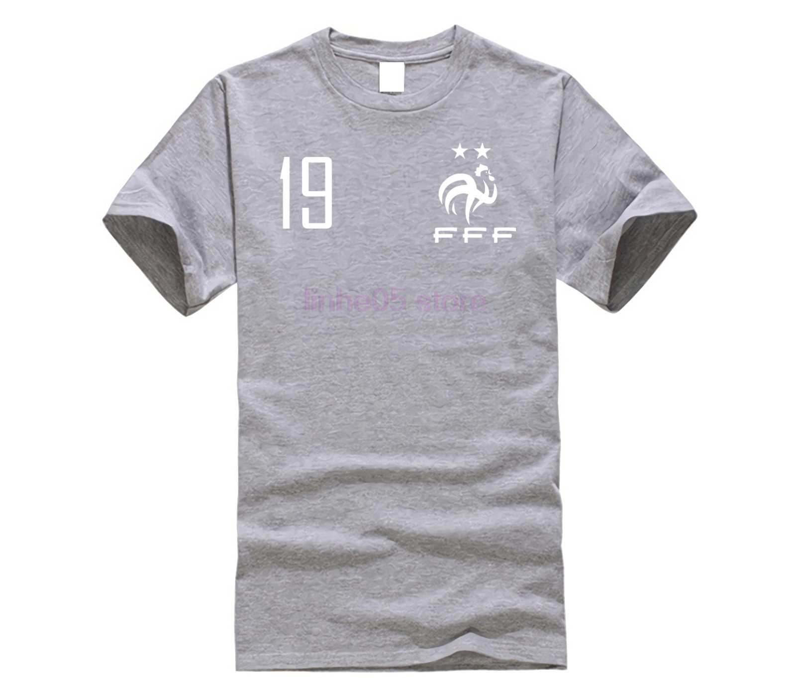 73045d7d2 ... 2019 Summer Cool Tee Shirt FRANKREICH France French Footballer Soccers 2  two stars T Shirt Funny ...
