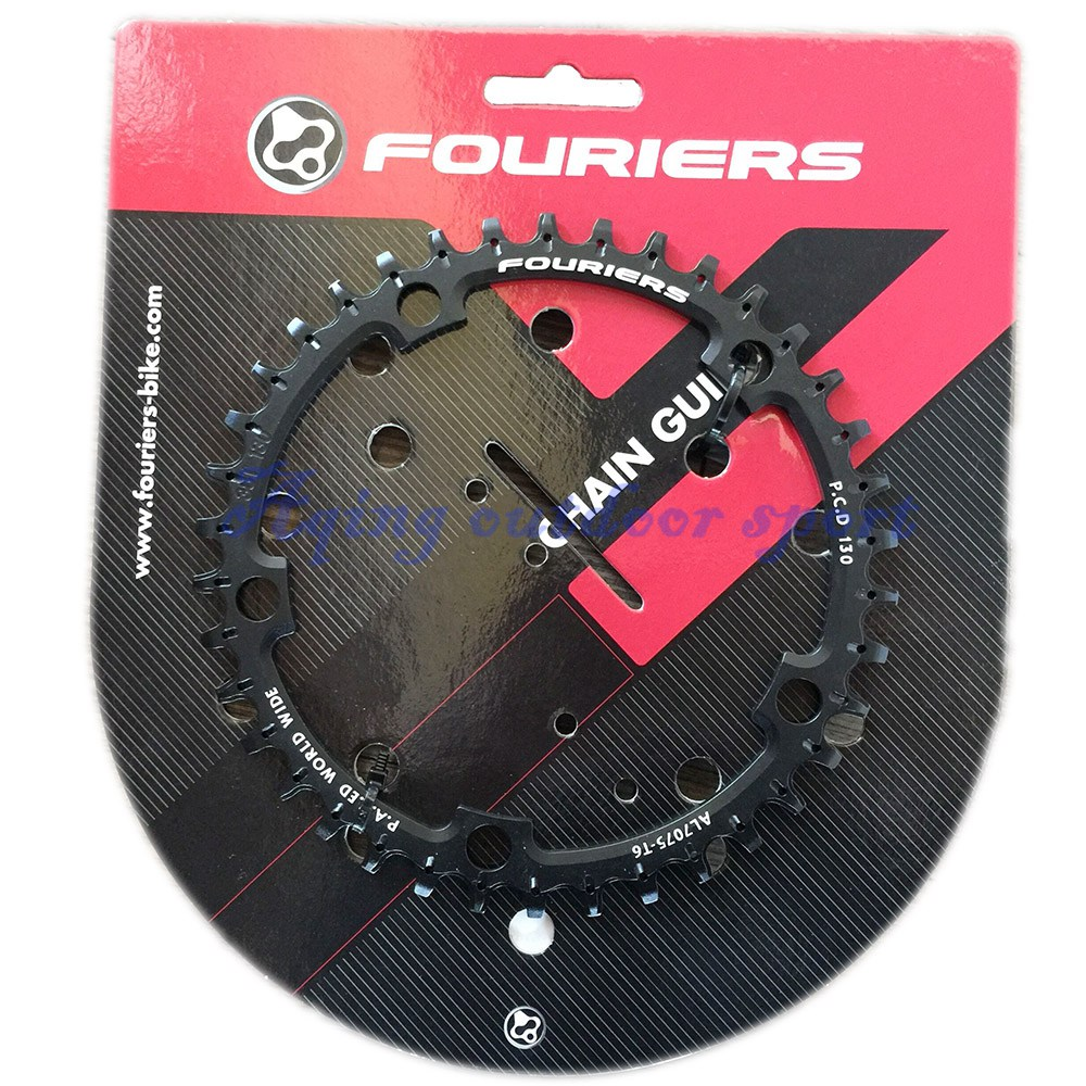 Fouriers CNC Cyclocross Road Bike Single Chain Ring Narrow-wide Teeth Chainrings 38T 40T 42T BCD 130mm Fit S H I M A N O 1pc fouriers cnc bike bicycle single chain ring 34t 36t chainrings p c d 104 for s h i m a n o oval shape narrow wide tooth
