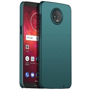 Image 5 - For Motorola Moto Z3 Play Z2 Play Case, Ultra Thin Minimalist Slim Protective Phone Case Back Cover For Motorola Moto Z3 Play
