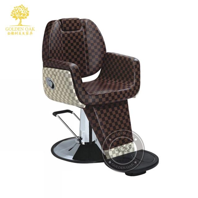 European hair salons dedicated to restore ancient ways. Hairdressing chair haircut chair. Barber chair. Hairdressing chair