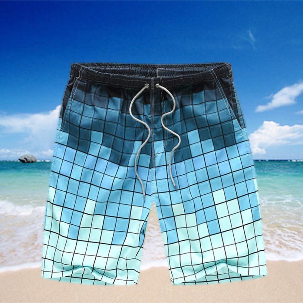Homens Praia de Surf Praia Calças Lazer Calças Soltas Quick-Seco 2019 Homem Maiô Beach Wear Calças Curtas Bermuda Badehose sunga