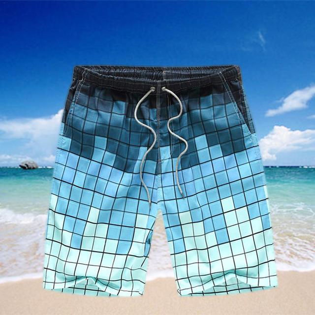 Men Beach Leisure Loose Pants Quick-Dry Surfing Beach Pants 2018 Swimsuit Man Beach Wear Bermuda Short Pants Badehose Sunga
