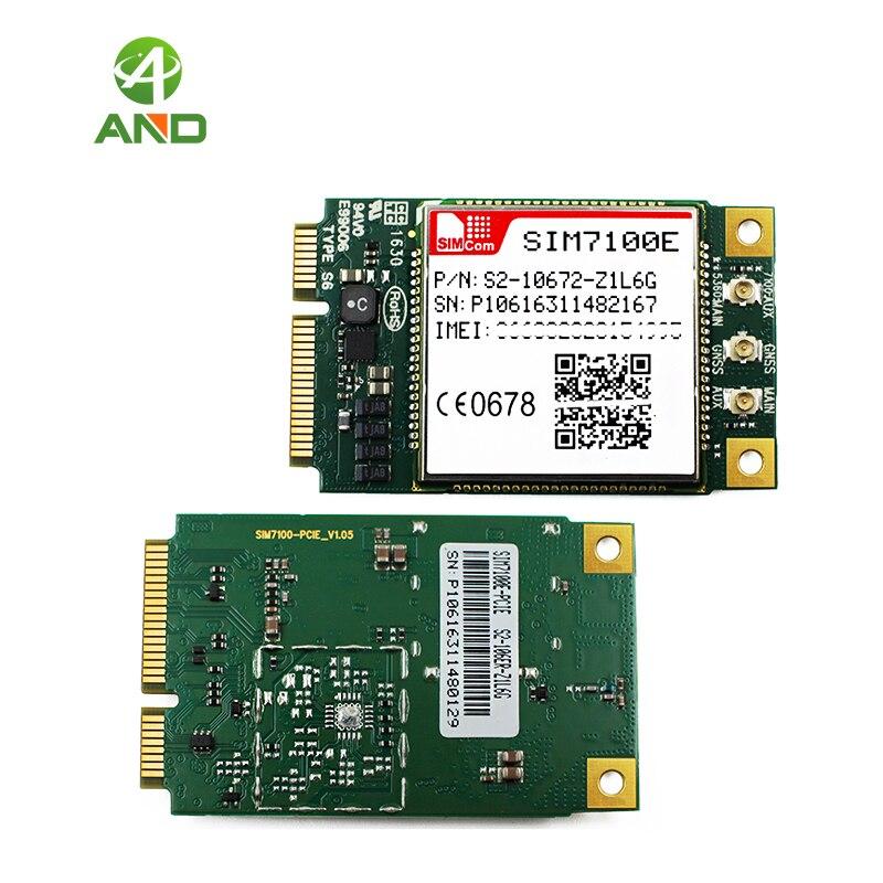 SIM7100E PCIE FDD LTE B1 B3 B7 B8 B20 TDD LTE B38 B40 SIM7100E PCIE 4g