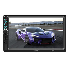 Car Autoradio 2 DNI Radio 7 HD Touch Screen Audio Stereo Bluetooth Video MP5 Multimedia Player WCE system