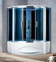 1500X1500X2200 мм Ванная комната угол стены паровая кабина мульт функциональный компьютер Управление влажная сауны 7062