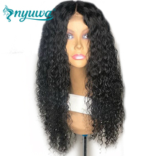360 Lace Frontal Wig Pre Plucked Curly Glueless Human Hair Lace Frontal Wigs With Baby Hair Bleached Knots Brazilian Remy Hair