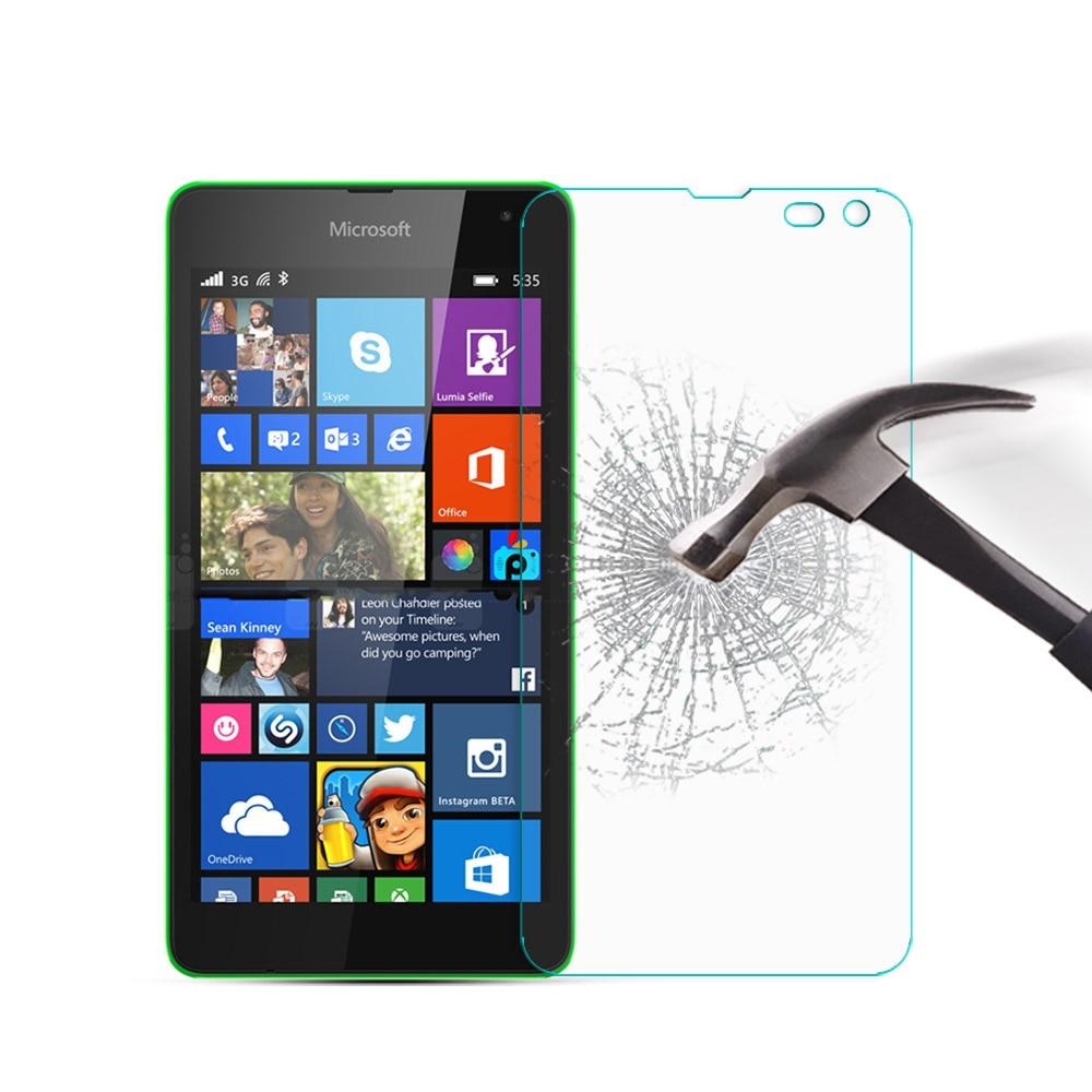 Tempered Glass For Nokia Microsoft Lumia