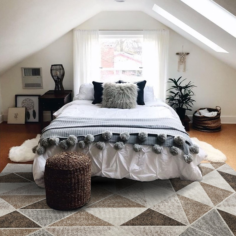 Big size geometric  living room rug  ,triangles coffee table carpet, , Pastoral home decoration bedside floor matBig size geometric  living room rug  ,triangles coffee table carpet, , Pastoral home decoration bedside floor mat