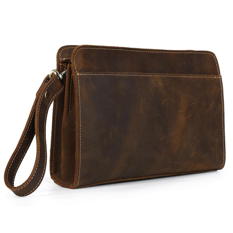 Здесь продается  TIDING Designer clutch purses fashion brown genuine leather men women handbag free shipping 4022  Камера и Сумки