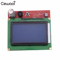 CEWAAL 3D Printer Controller Board Smart Controller 12864 LCD Controller Accessories For RepRap 3D Printer Prusa