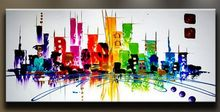Details about Modern Abstract hand-painted Art Oil Painting Wall Decor canvas NO frame
