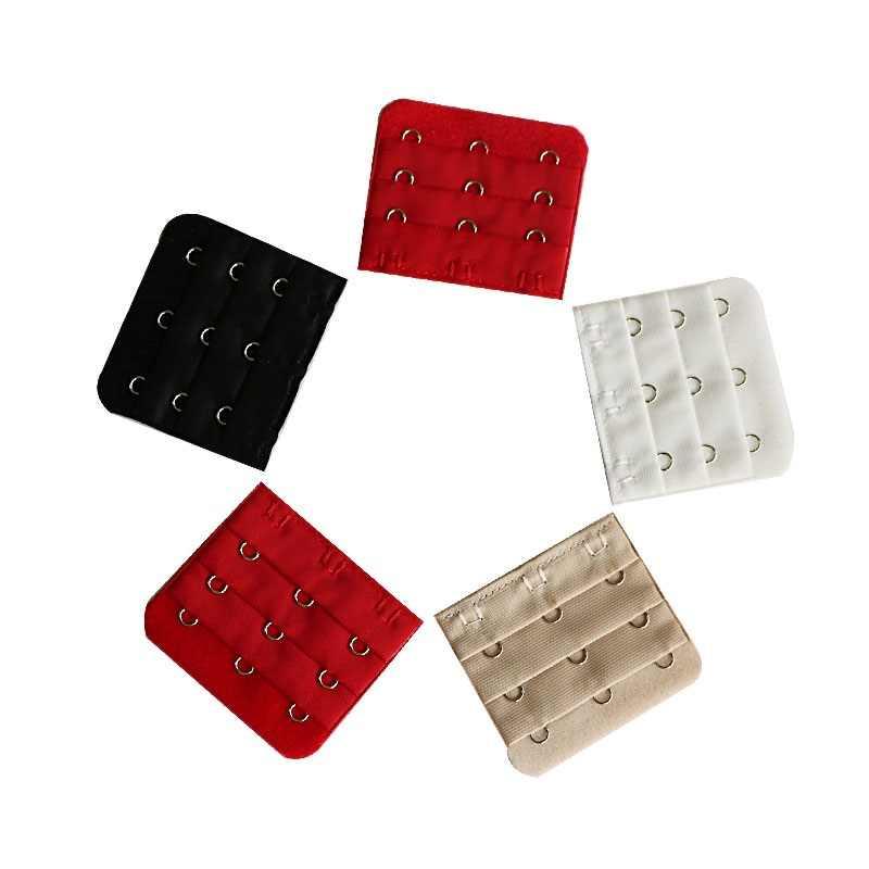 5pcs חזיית מרחיבי רצועת אבזם הארכת 3 Rows1/2/3/4/5 ווי חזיית רצועה extender תפירה כלי מקורבי אביזרי עבור נשים