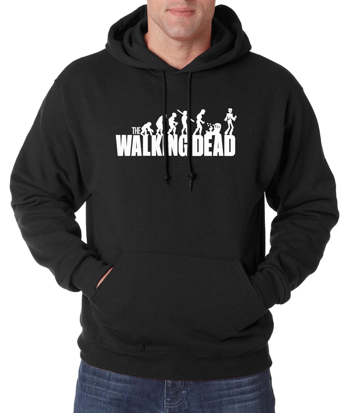 Hot Sale The Walking Dead men hoodies 2019 new spring winter sweatshirt fleece high quality hoodie hip hop streetwear for fans