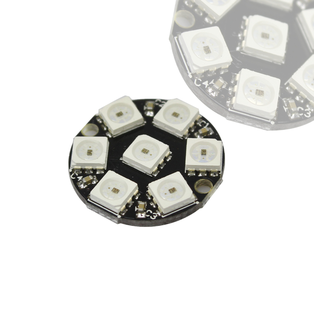Diodes Logical Ws2812b 4*4 16-bit Full Color 5050 Rgb Led Lamp Panel Light For Arduino Wholesale To Suit The PeopleS Convenience Active Components