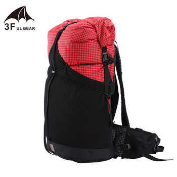 3F UL GEAR 35L Lightweight Durable Travel Camping Hiking Backpack Outdoor Ultralight Frameless Packs XPAC & UHMWPE 3F UL GEAR - DISCOUNT ITEM  30% OFF All Category