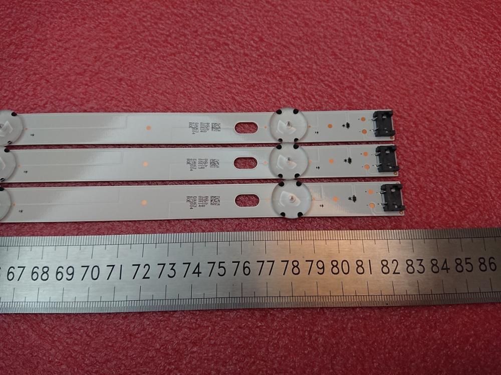 New 15 PCS 7LED 830mm LED backlight strip for LG 43LJ5500 43UJ6300 43UJ634V LC43490062A LC43490063A LC43490064A