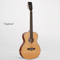 Solid Korean Pine Body Guitarra 36 Mini Guitar Traveling Guitar In Stock