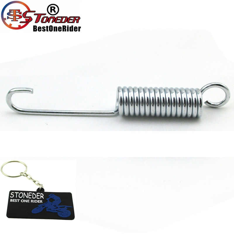 STONEDER 110mm Kick Stand Return Spring For Chinese CRF50 KLX TTR Lifan SSR 50cc - 160cc Dirt Pit Bikes