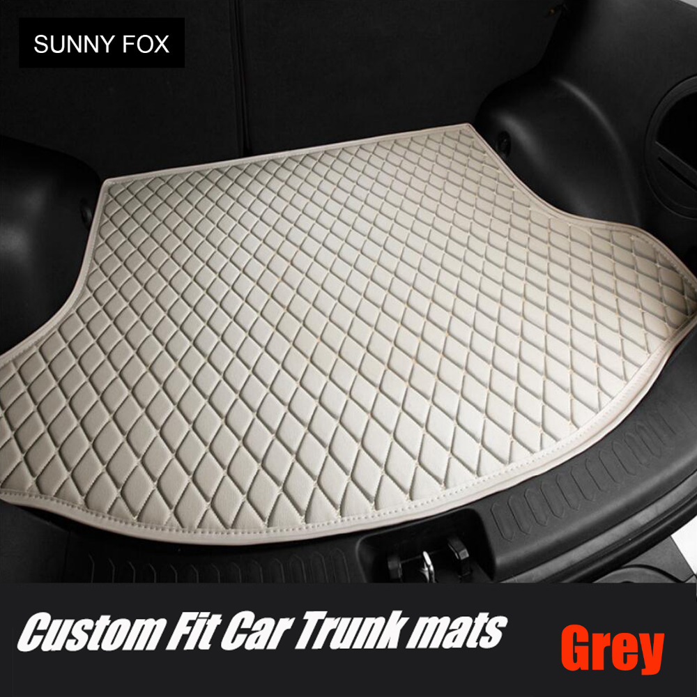 Car trunk mats cargo Liner for Mercedes Benz G350 G500 G55 G63 AMG W164 <font><b>W166</b></font> M <font><b>ML</b></font> GLE X164 X166 GL GLS 320 <font><b>350</b></font> 400 420 450 500 5 image