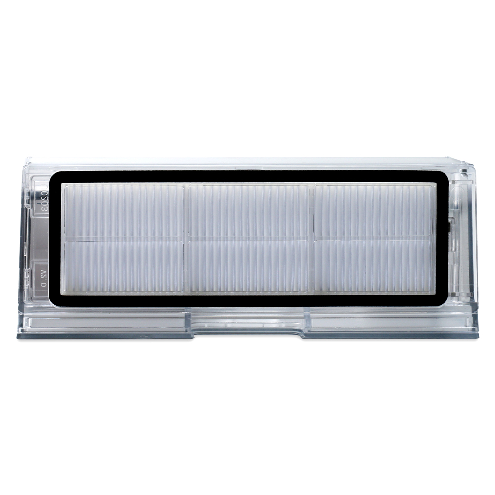 Пыли коробка с фильтром для Xiaomi 2nd поколения пылесос для Roborock S50 S51 S55 подметания робот аксессуары