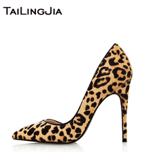Leopard Fashion Sexy Woman High Quality Pumps Women Shoes Slip On Summer High Heel Ladies Brand Women Shoes Party Wedding Dress цена в Москве и Питере