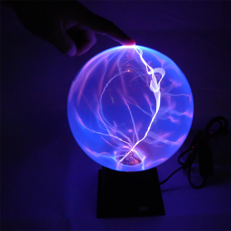 6 5 3 Inch Plasma Ball Sphere Lamp Magic Plasma Globe