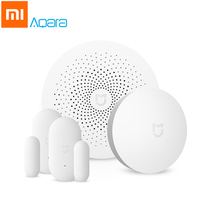 Xiaomi Aqara Mijia Smart Remote Control Set Home Security Multi Functional Gateway Window Door Sensor Kit
