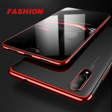 luxury Plating TPU Case for Huawei P20 Lite Pro Ultra-thin Soft Cover case coque For capa silicone