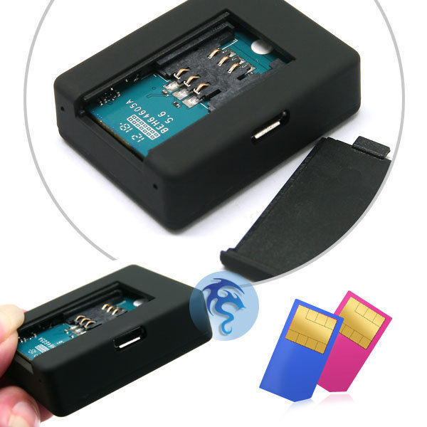 Portable Mini A8 GPS Tracker GSM GPRS GSM Security Monitoring Sound Control