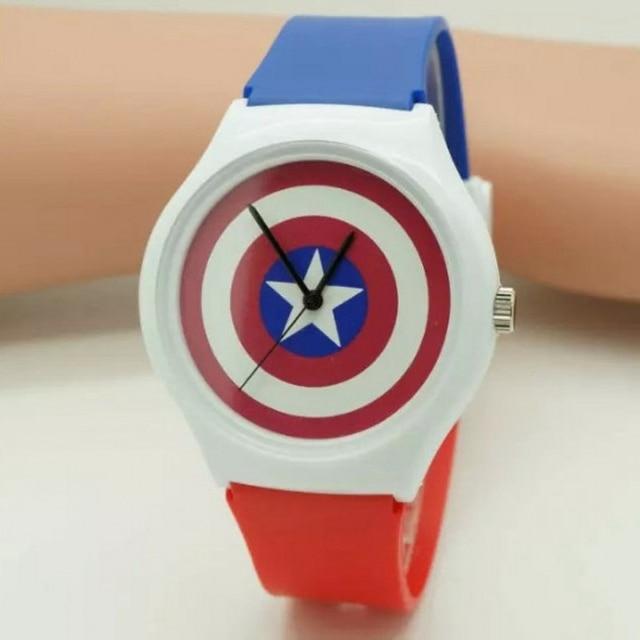 dropshipping 1Pcs Fashion Avengers: Age of Ultron watch sports watches couple gi