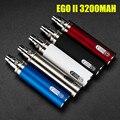 2016 Новейший электронной сигарета Оригинал GS 3200 мАч ЭГО 2 Батареи для эго II эго-II электронные сигареты 510 Нить Батареи Multi цвета