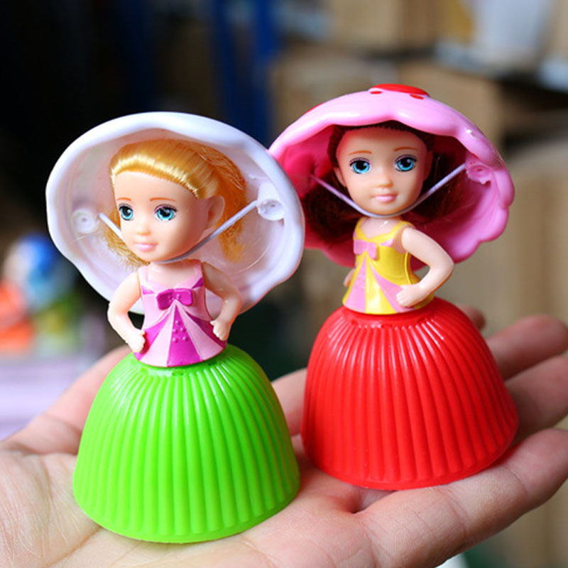 Mini Cartoon Princess For Girls Children Cute Cake For Lol Doll Lovely Surprise Cupcake Princess Dolls Transformed Kids Toys