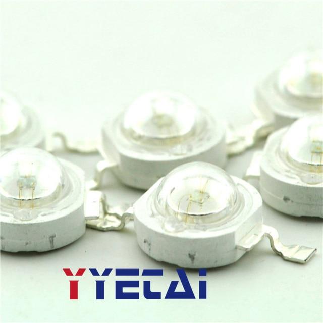 YongYeTai High-power LED lamp beads 1W Blu-ray Astigmatism Blue lamp beads LED 15-25LM free shipping