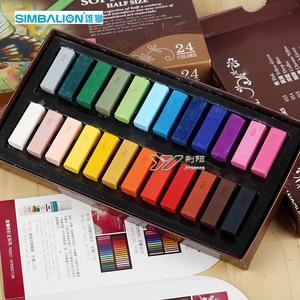 Image 2 - LifeMaster Simbalion Soft Pastel Set Professional Chalk Pastels Art Set Painting Supplies