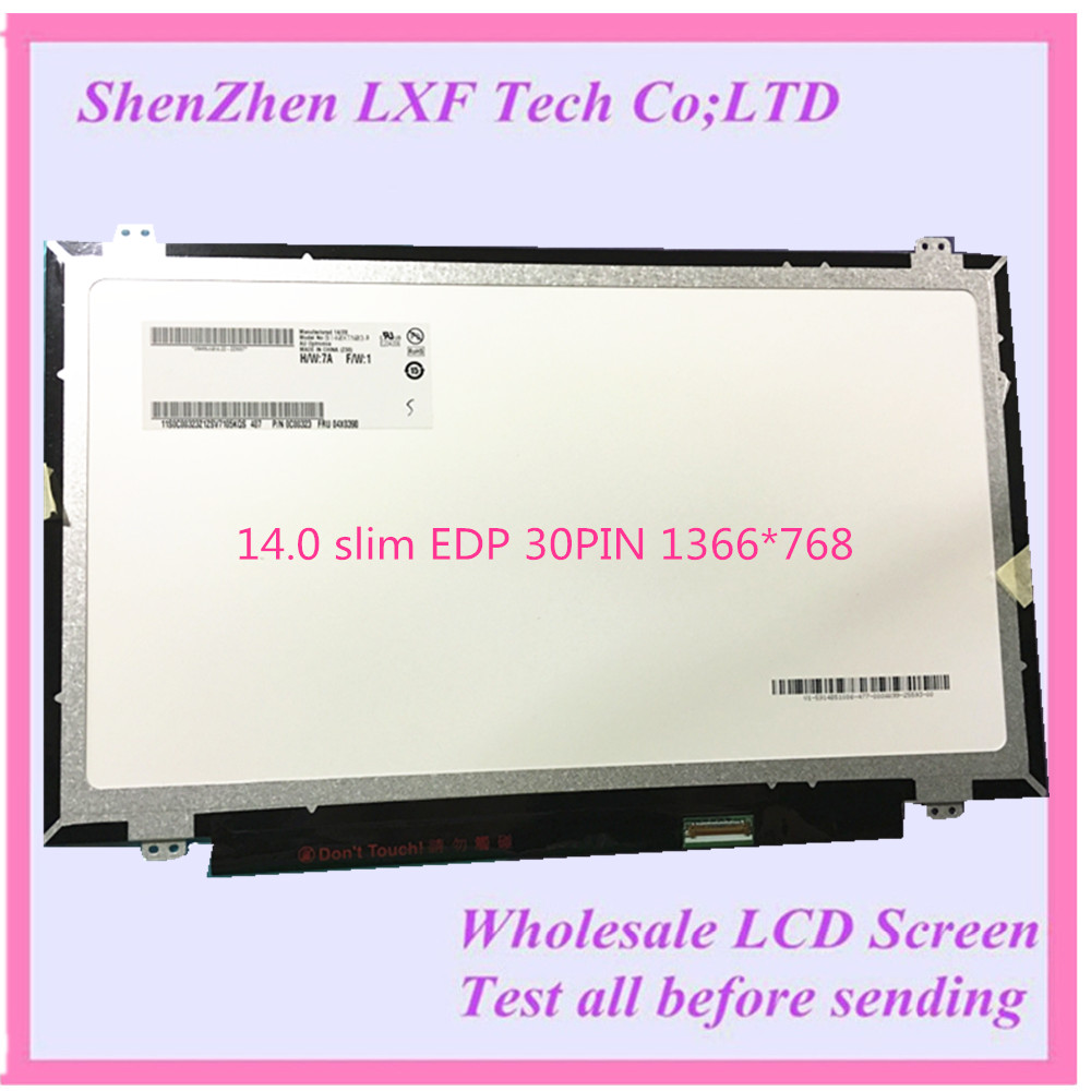 N140BGE-EA3 EB3 E33 B140XTN02.4 LTN140AT31 14 EDP LCD led SCREEN B140XTN03.3