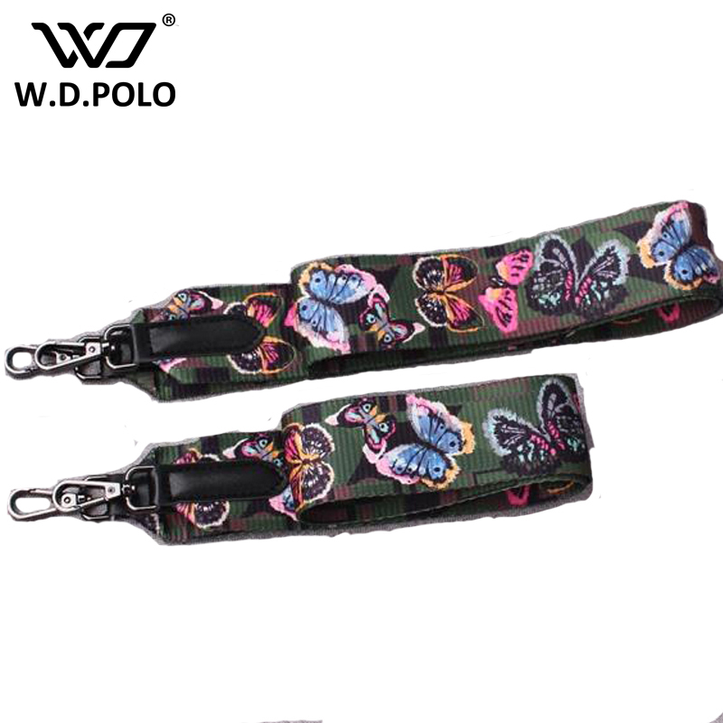WDPOLO Fashion bag strap women bags belts women bags accessory handbags parts PU leather shoulder bag and fabric M2056