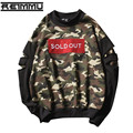 Оптовая новая коллекция весна мужские толстовки и кофты высокое качество новизны отверстие футболка мужской хип-хоп мужчины одежда марка-clothing