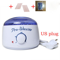 EU US Plug New Professional Warmer Wax Heater 10pcs Wooden Waxing Wax Disposable Sticks 1 No