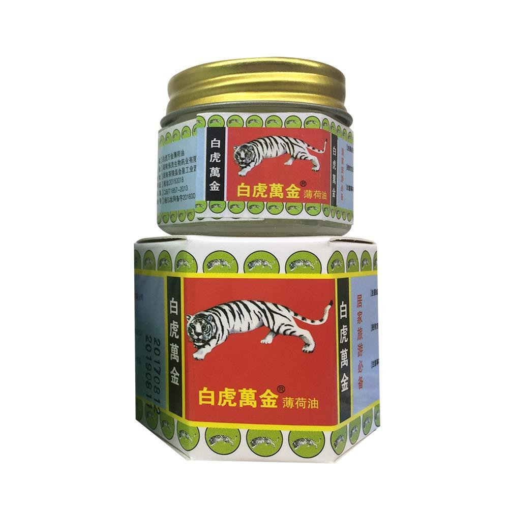 1pc Traditional Chinese Medicine Pain Relief Muscle Joint Back Pain Relief Analgesic Balm Ointment Massage Cream White Red Tiger
