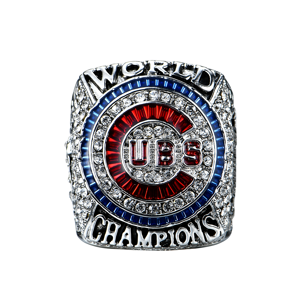 Drop Verschiffen 2016 Chicago Cubs Spieler Bryant/Rizzo/Zonbrist Welt Serie Solid Championship Ring Größe 8 9 10 11 12 13 14