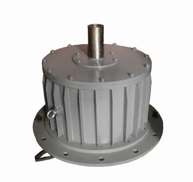 10kw 100rpm 220v/380v low rpm wind turbine alternator / permanent magnet ac  alternator