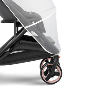 Image 5 - XIAOMI MITU baby stroller accessories weatherproof cover cart special mosquito net baby stroller front armrest U shaped handrail