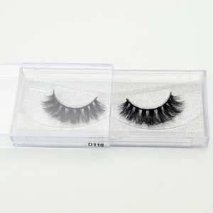 Image 5 - Visofree Thick Eyes Lashes Hand Make Fake Eyelashes Dramatic Volume False eyelashes 3D Lashes Cilios Mink for Makeup Tools D110