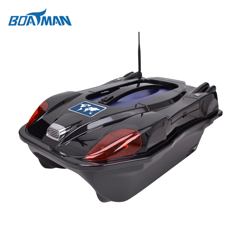 Free shipping Boatman Bait boat RC carp fishing  bait boat with carring case for fishing tools