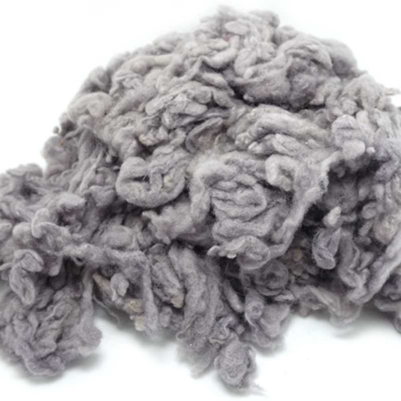 Dark Grey Carded Wool Batts For Needle Felting 5g 10g 20g